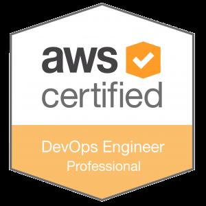 AWS Pro Cert DevOps Badge